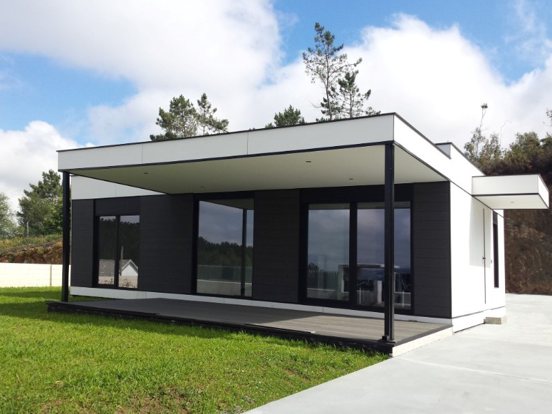 Casas modulares casas cubo qu son for Casas modernas tipo cubo