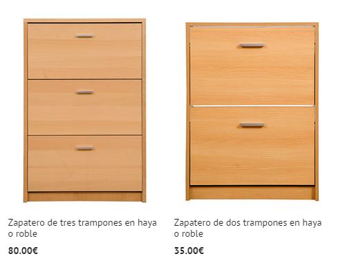 D nde comprar zapateros online modernos for Zapateros baratos carrefour