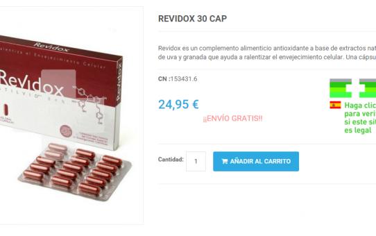 Comprar Revidox online y barato
