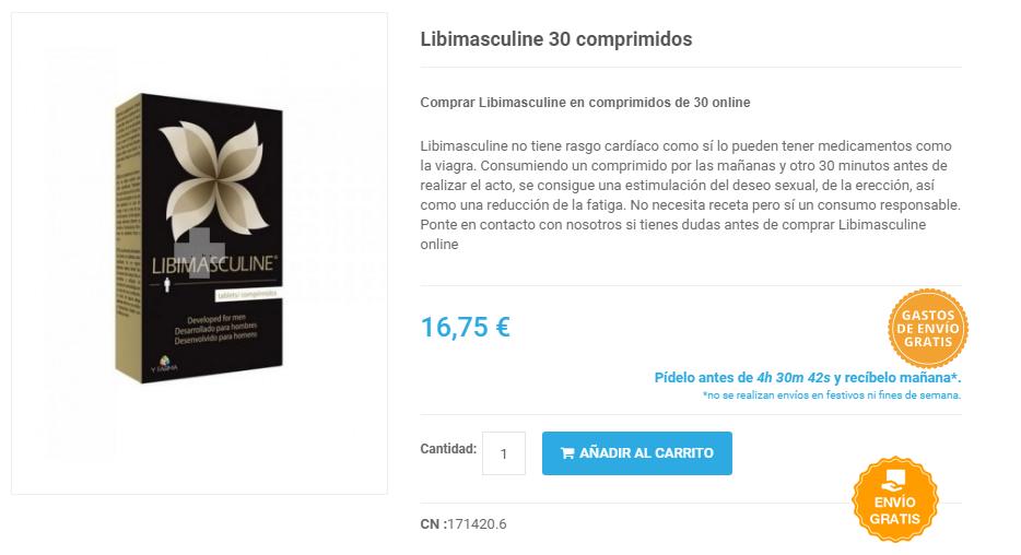 comprar libimasculine online