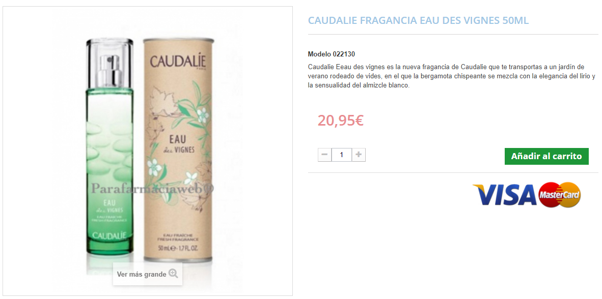 comprar perfumes caudalie baratos online