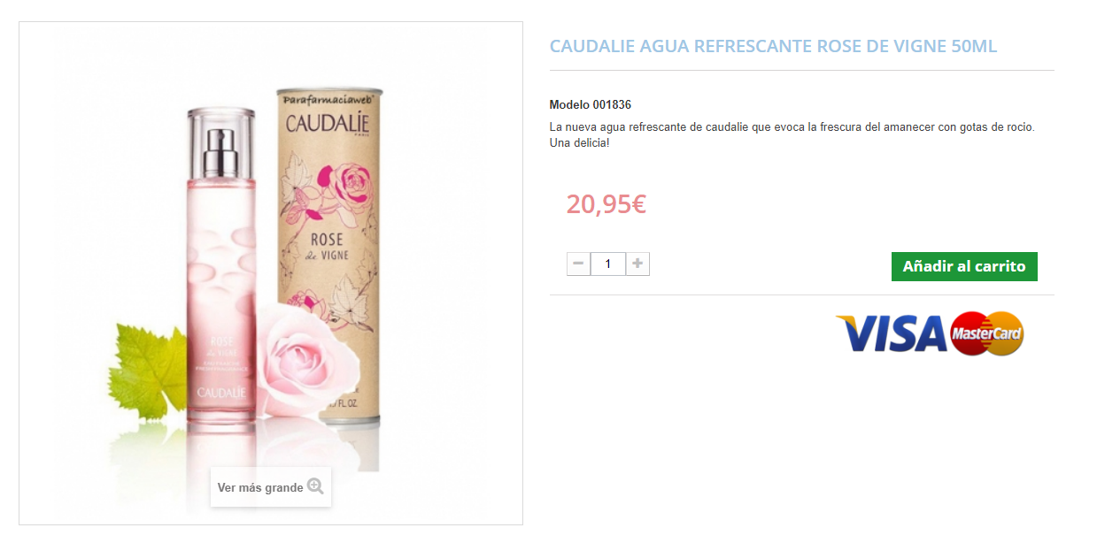 perfumes de farmacia caudalie